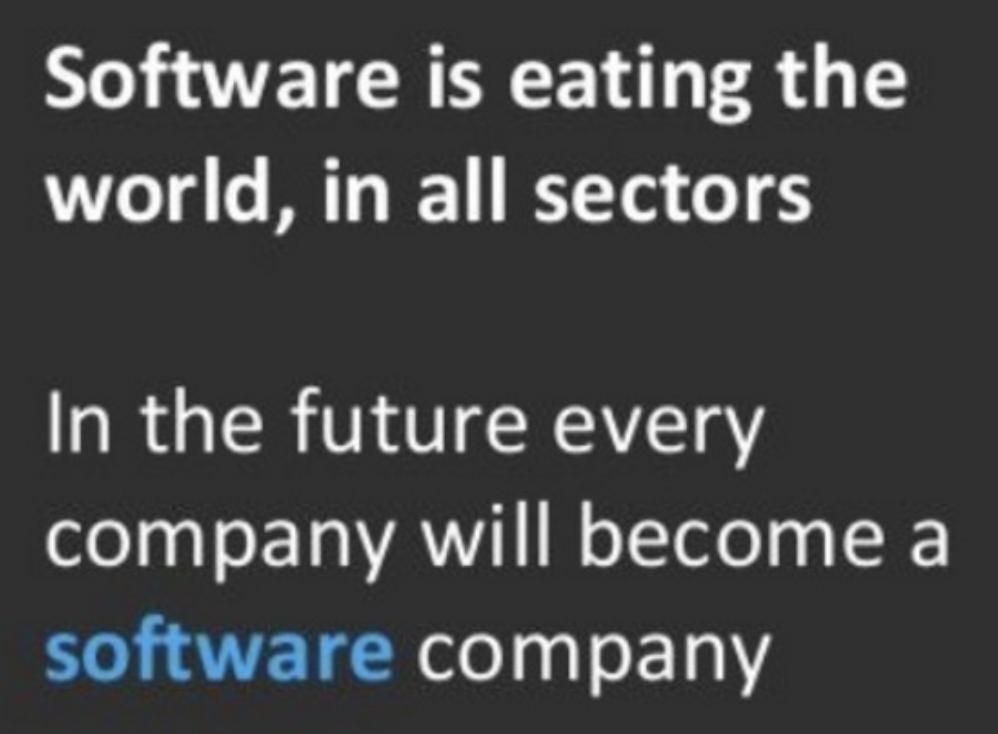 SoftwareisEatingTheWorld